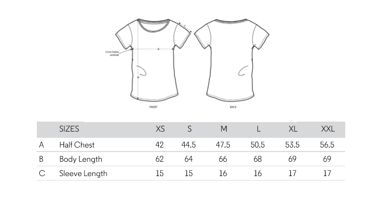 taille t-shirt femme agricultrice femme parfaite