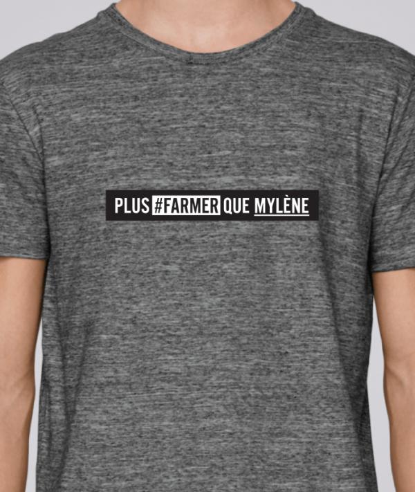 tee shirts homme drole pour fermier agriculteur - plus farmer-avenue des champs