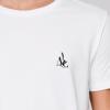 t-shirt pour vigneron agriculteur fermier - logo noir - avenue des champs