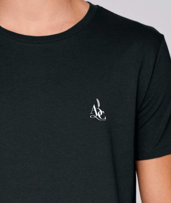 t-shirt pour homme agriculteurs avec le logo avenue des champs