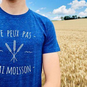 t-shirts agriculteur - je peux pas -avenue des champs